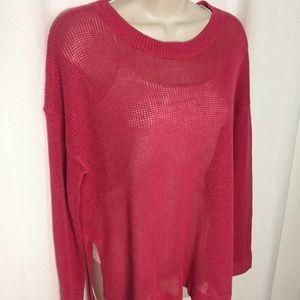Eileen Fisher S Pink Linen Sweater